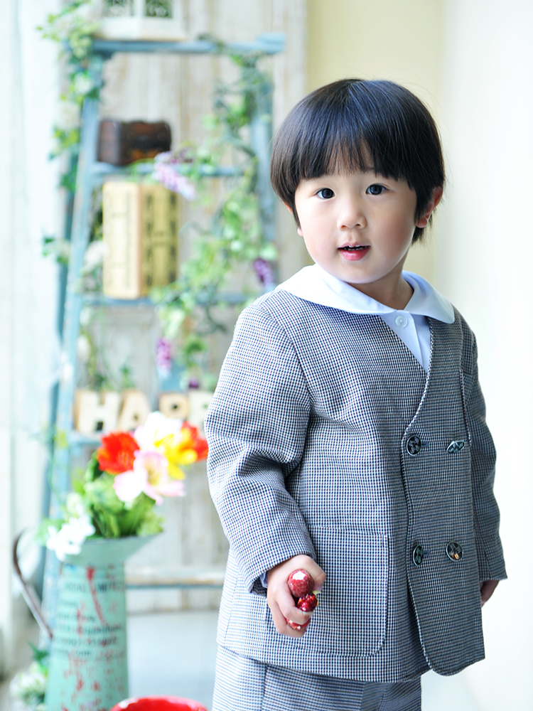 入園・男の子 園服