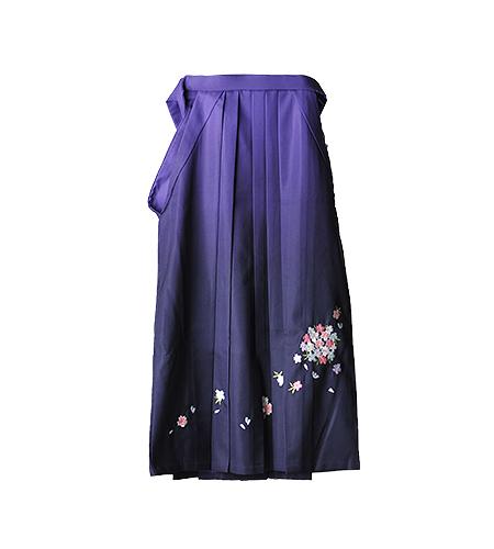 紫 / 刺繍 / 85cm