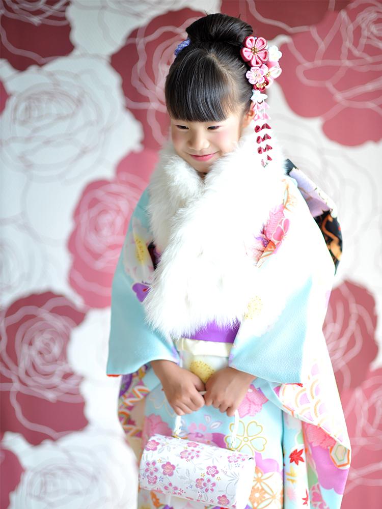 七五三 7歳 女の子 着物