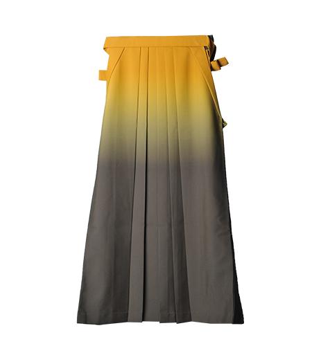 黄×グレー / グラデーション / 99cm