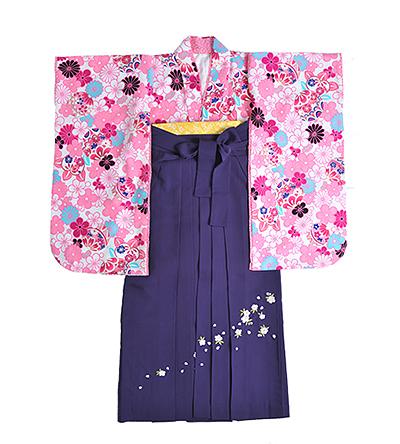 卒業袴 / ピンク / 紫 / 刺繍