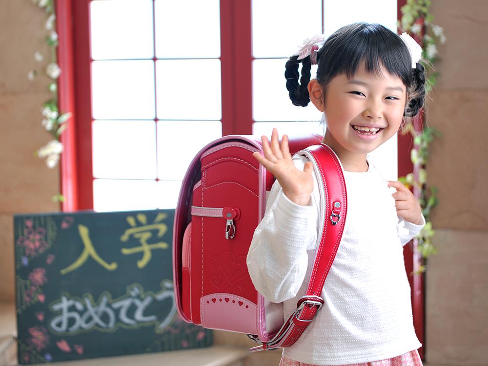入学・女の子