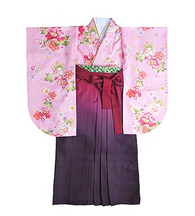 卒業袴 / ピンク / 撫子色 / ピンク×紫 / グラデーション