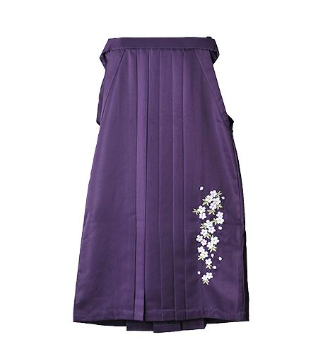 紫 / 刺繍 / 91cm