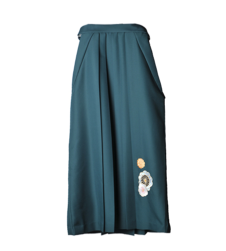 緑 / 刺繍 / 102cm