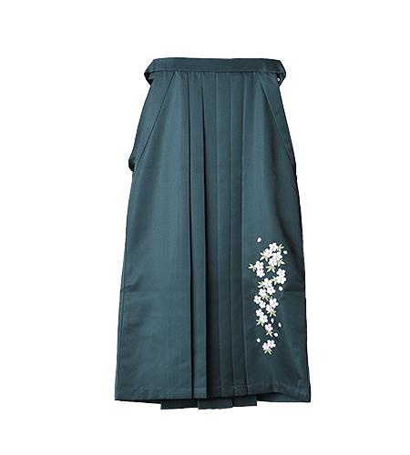 緑 / 刺繍 / 91cm