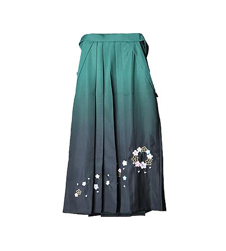 緑 / 刺繍 / 85cm