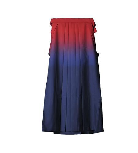 赤×紺 / グラデーション / 91cm