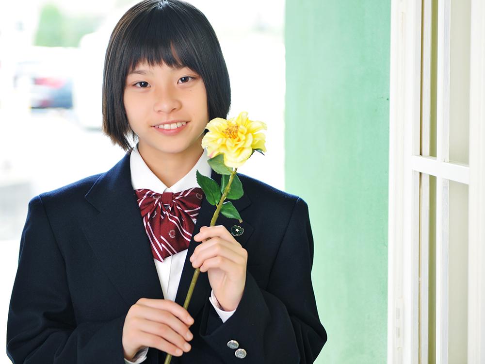 入学・女の子 制服