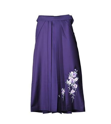 紫 / 刺繍 / 95cm