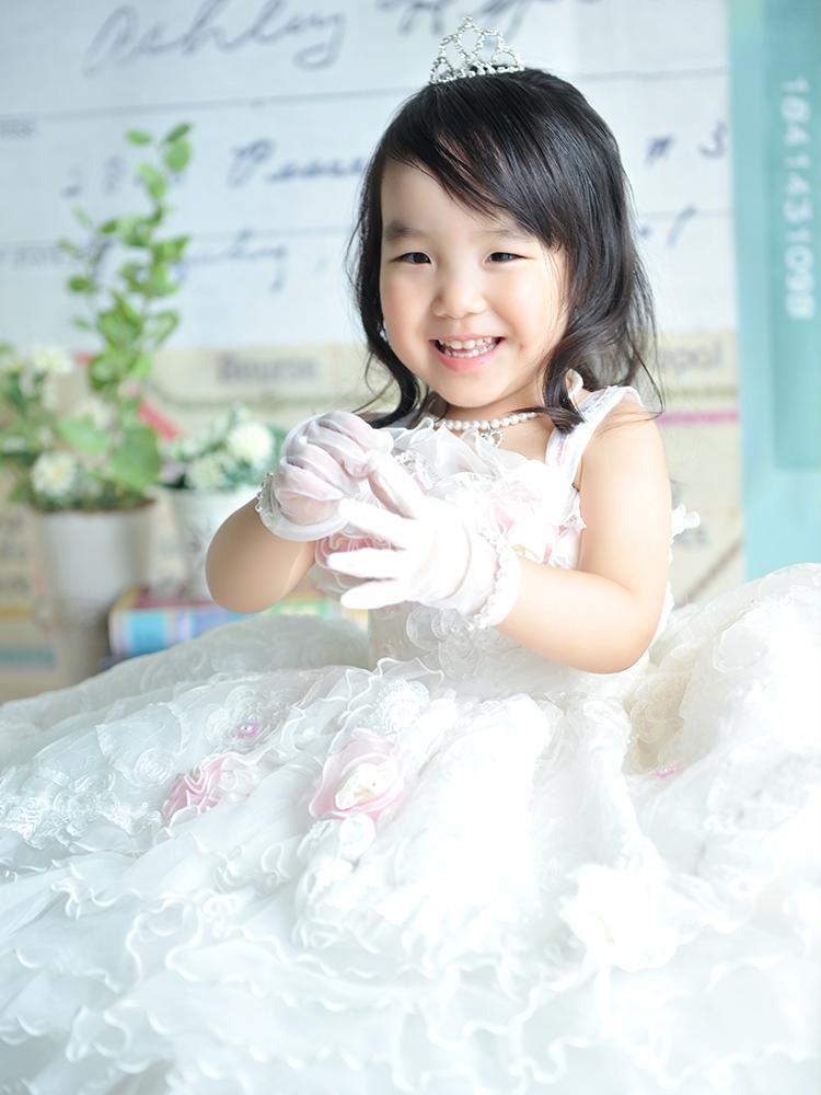 七五三 3歳 女の子 ドレス
