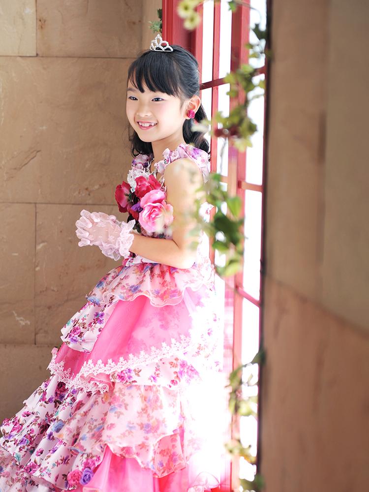 七五三 7歳 女の子 ドレス