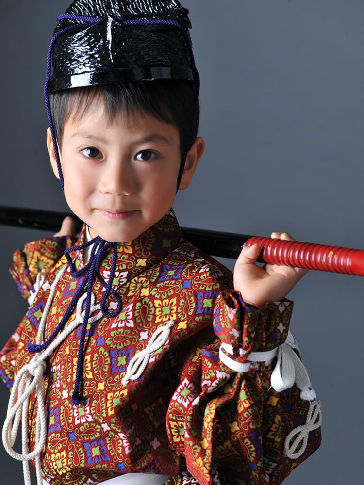 七五三 5歳 男の子 兜
