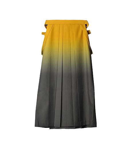 黄×グレー / グラデーション / 91cm