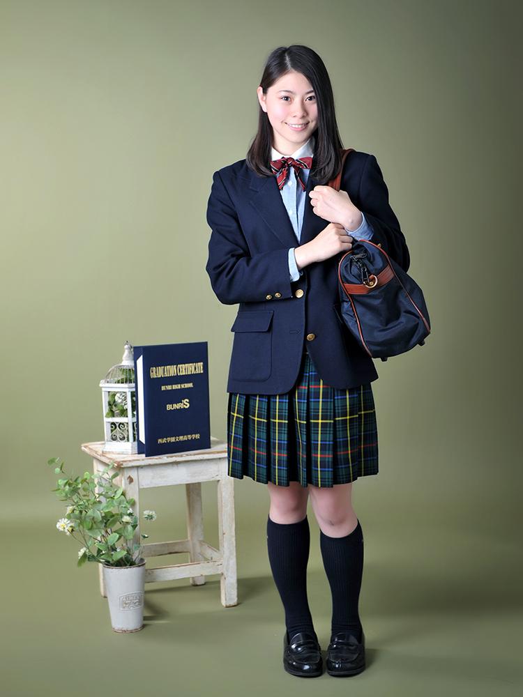 卒業・女の子 制服