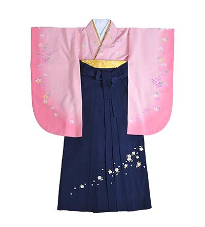 卒業袴 / ピンク / 撫子色 / 紺 / 刺繍