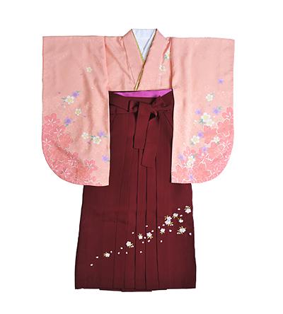 卒業袴 / ピンク / 乙女色 / エンジ / 刺繍