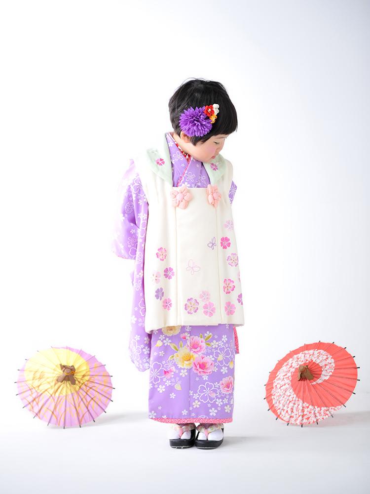 七五三 3歳 女の子 着物