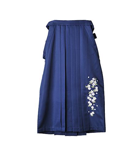 紺 / 刺繍 / 87cm