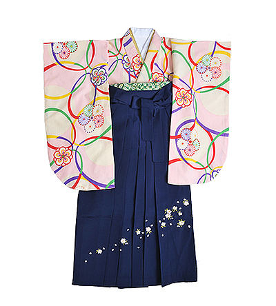卒業袴 / ピンク / 桜色 / 紺 / 刺繍