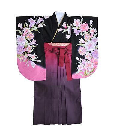 卒業袴 / 黒×ピンク / ピンク×紫 / グラデーション