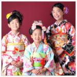七五三 姉妹写真 家族和装 着物