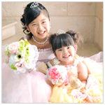 七五三 姉妹写真 家族和装 ドレス