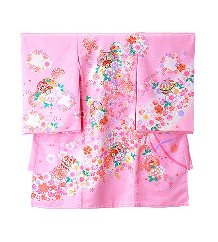 【No.6】のしめ / 祝着 / ピンク / 毬 / 桜