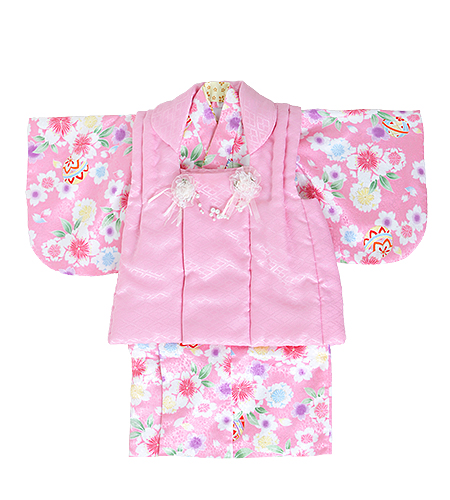 和装 / 被布 / ピンク / 女の子