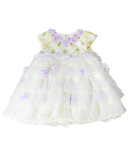 洋装 / ドレス / 80cm / クリーム / 女の子