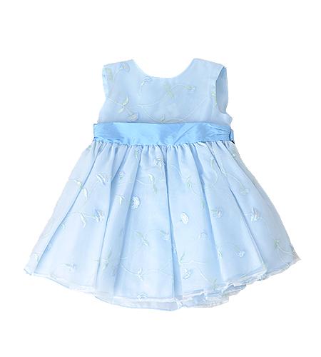 洋装 / ドレス / 90cm / 水色 / 女の子