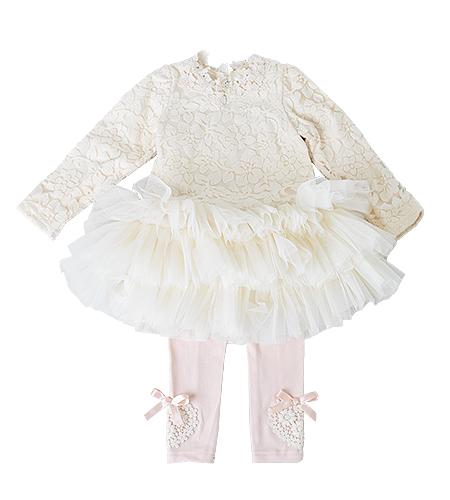 洋装 / ドレス / 100cm / アイボリー / 女の子