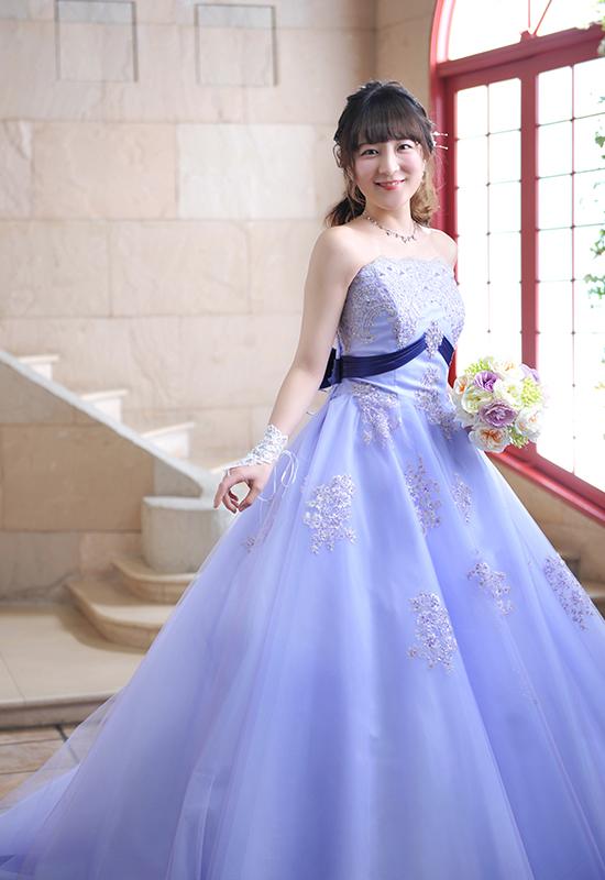 成人女性 / ドレス / 紫
