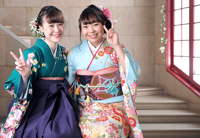 成人女性 / 振袖 / 袴 / 姉妹写真 / 家族和装