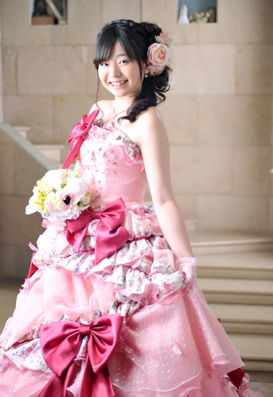 成人女性 / ドレス / ピンク