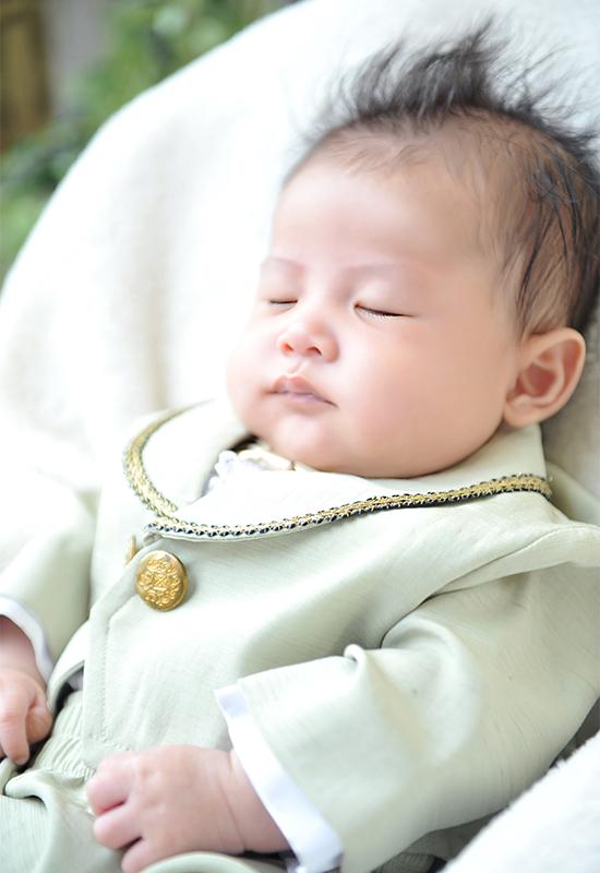 百日記念 / タキシード / 男の子 / ひとり写真