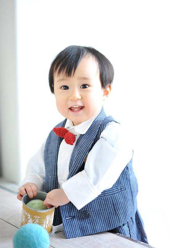 1歳 / お誕生日 / 洋装 / 男の子