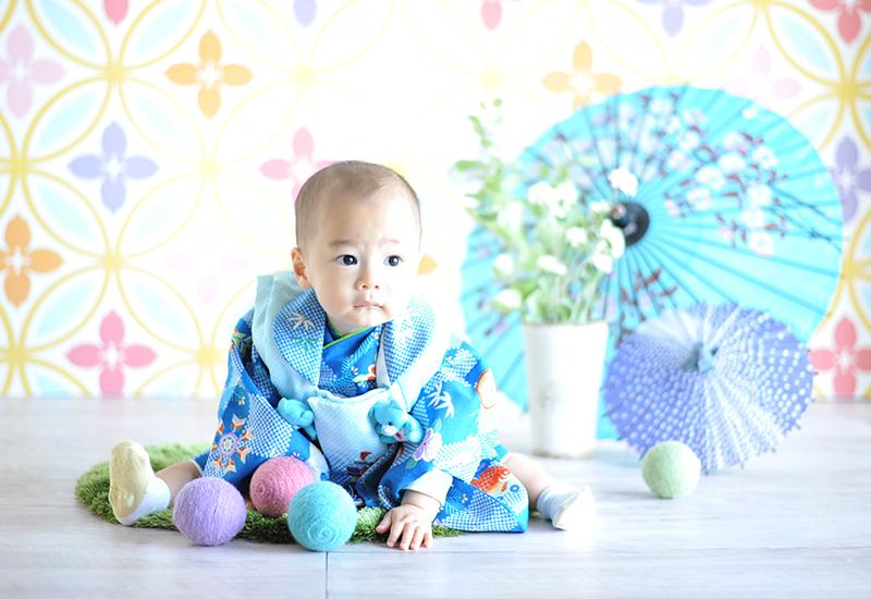 1歳 / お誕生日 / 祝着 / 着物 / 男の子