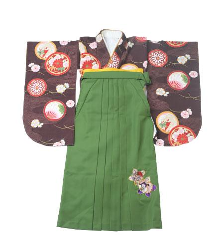 卒業袴 / モダン / 抹茶 / 緑 / 刺繍