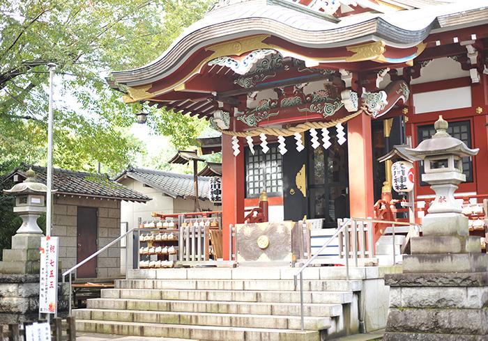 東京都東久留米市 南沢氷川神社
